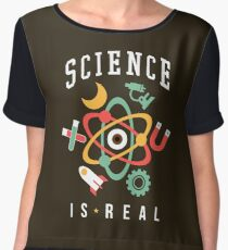 Science Is Real Chiffon Top