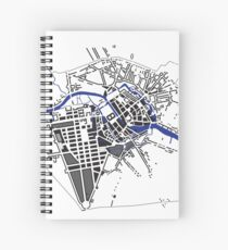 Historical Berlin graphic Spiral Notebook