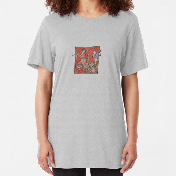 De medicina ex animalibus Camiseta ajustada