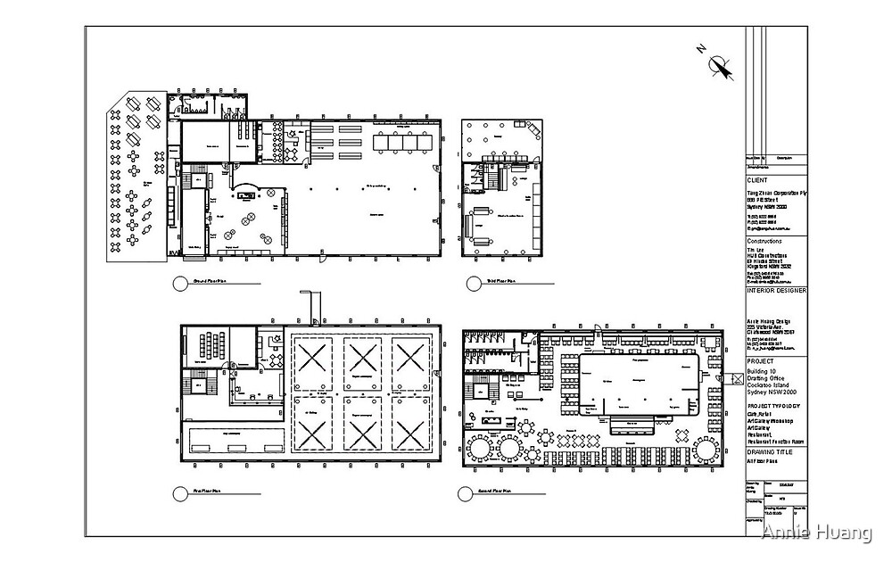 Floor Plan by Annie Huang