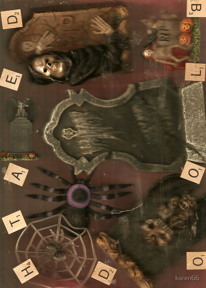 Macabre Collage by karen66