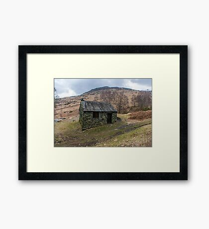 Ashness Bridge Shelter Framed Print