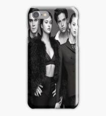 Riverdale cast b&w iPhone Case/Skin