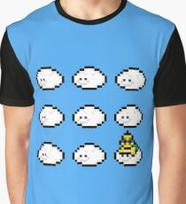 Lakitu on cloud nine Graphic T-Shirt