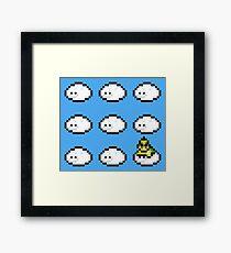 Lakitu on cloud nine Framed Print