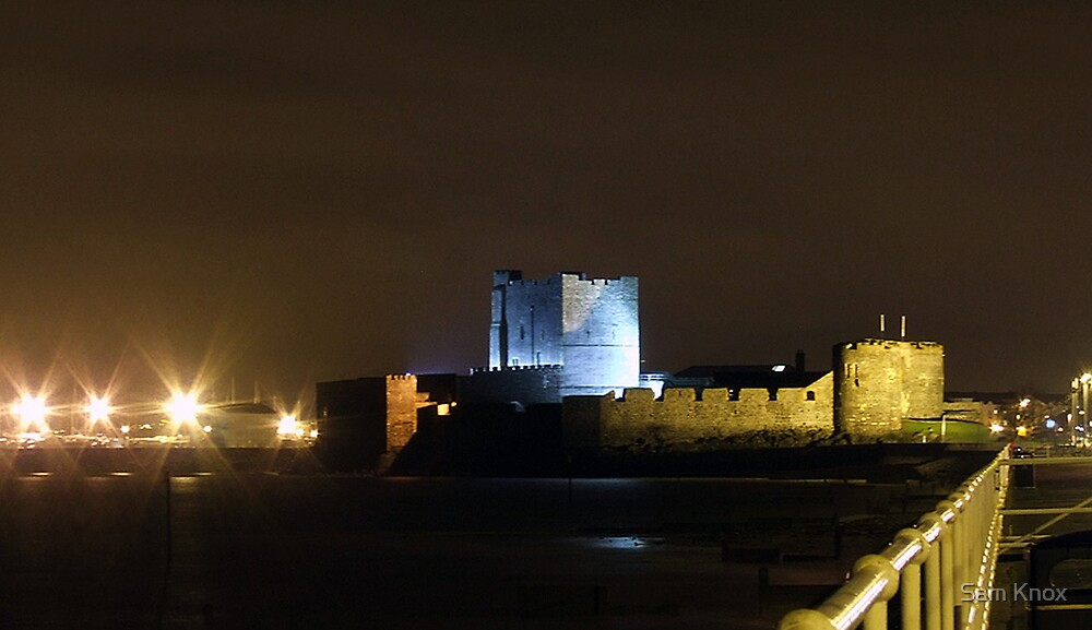 Carrickfergus Castle by Sam Knox
