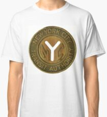 NYC transit art Classic T-Shirt