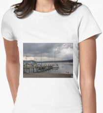 At The Jetty Women's Fitted T-Shirt