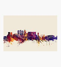 Cape Town South Africa Skyline Photographic Print