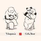 Ukupanda and Cello Bear by Panda And Polar Bear