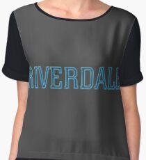 Riverdale Logo Chiffon Top