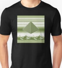 Pixel Pyramid in Gameboy Colours Unisex T-Shirt