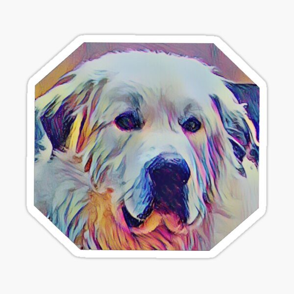 Great Pyrenees - Always Awesome! Sticker