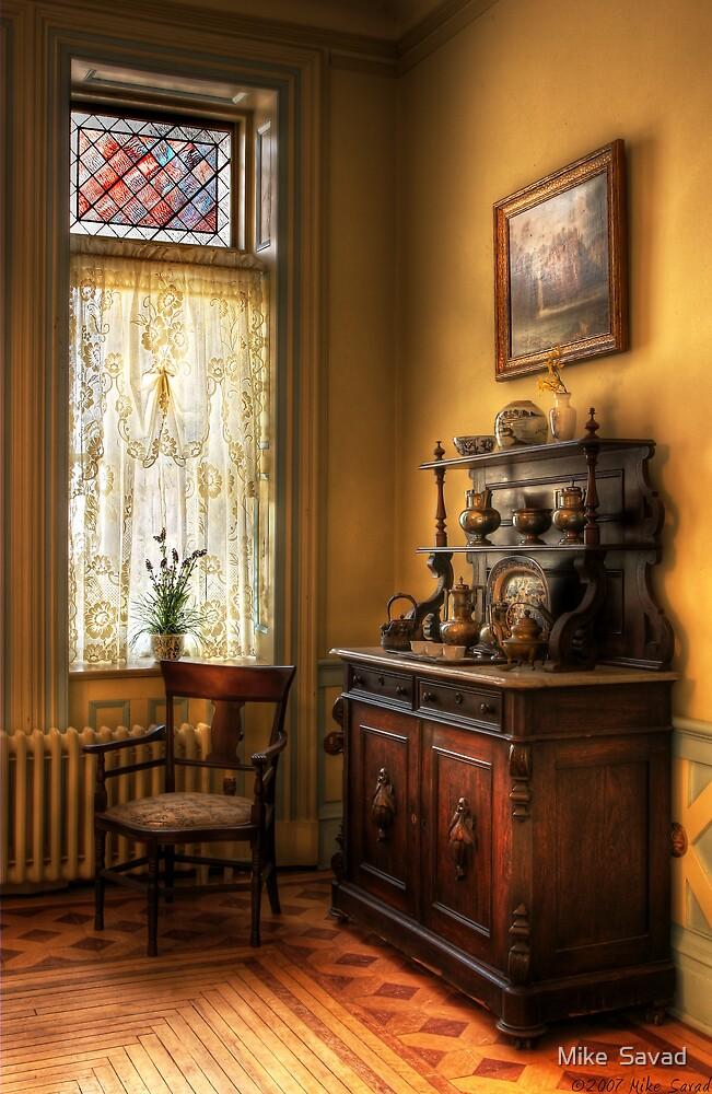 The corner in Grandma's Kitchen by Michael Savad