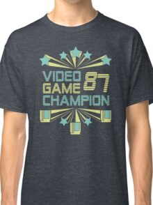 Video Game Champion 1987 : Classic Option Classic T-Shirt