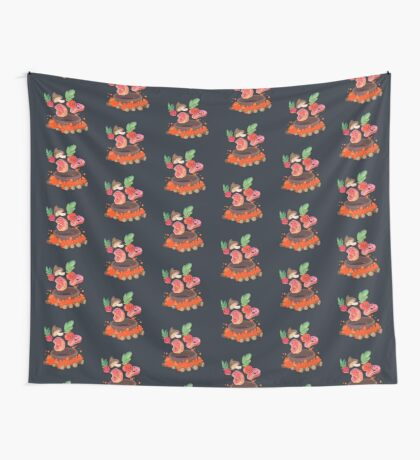 Happy meal Wall Tapestry