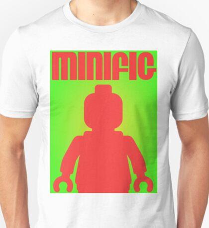 Retro Large Black Minifig  T-Shirt