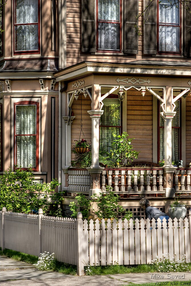 Classic Victorian Detail by Michael Savad