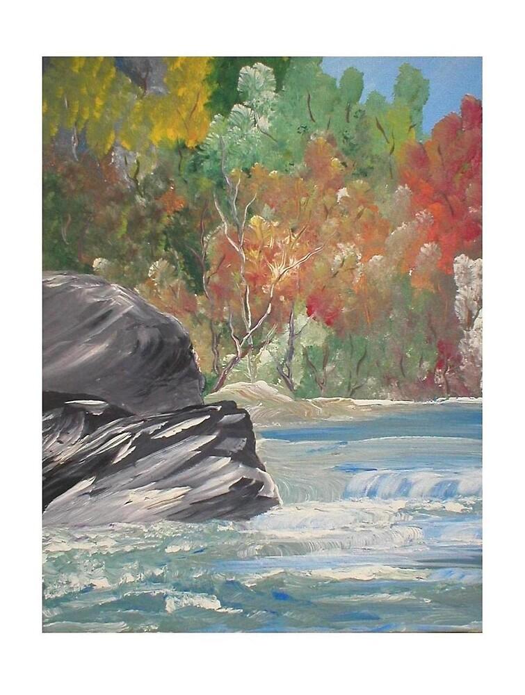 Fall Scene by Ginger Lovellette