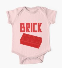 Red Brick One Piece - Short Sleeve