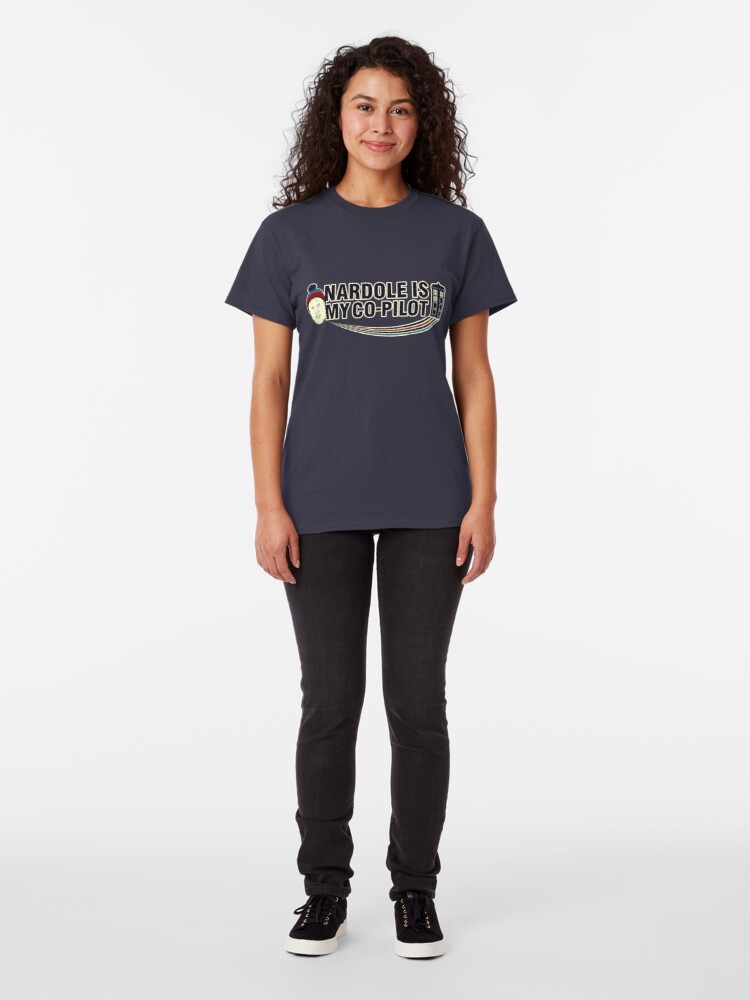 Alternate view of Nardole Is My Co-Pilot Classic T-Shirt