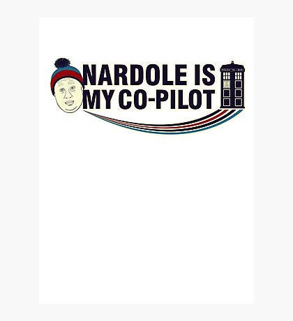 Nardole Is My Co-Pilot Photographic Print