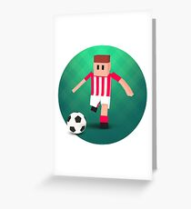 Tiny Striker: World Football  Greeting Card