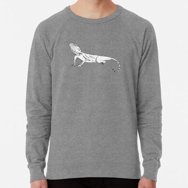 Australian Bearded Dragon Fanimal Lightweight Sweatshirt