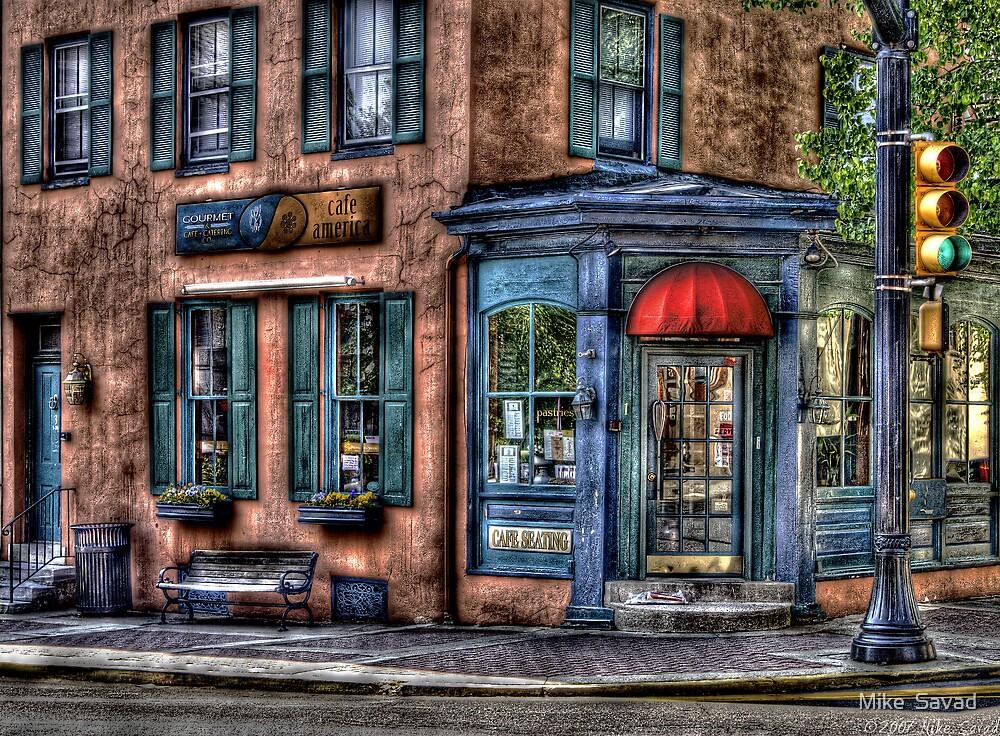 Cafe America by Michael Savad