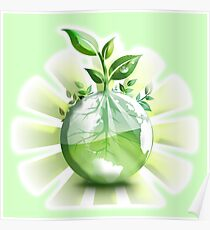 Ecology, Earth science, Environment, Eco, Ecosystems, Green Poster