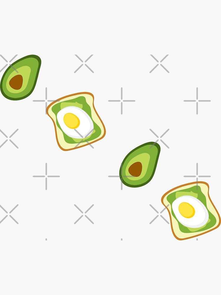 Avocado Sticker Pack by darrianrebecca