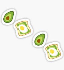 Avocado Sticker Pack Sticker