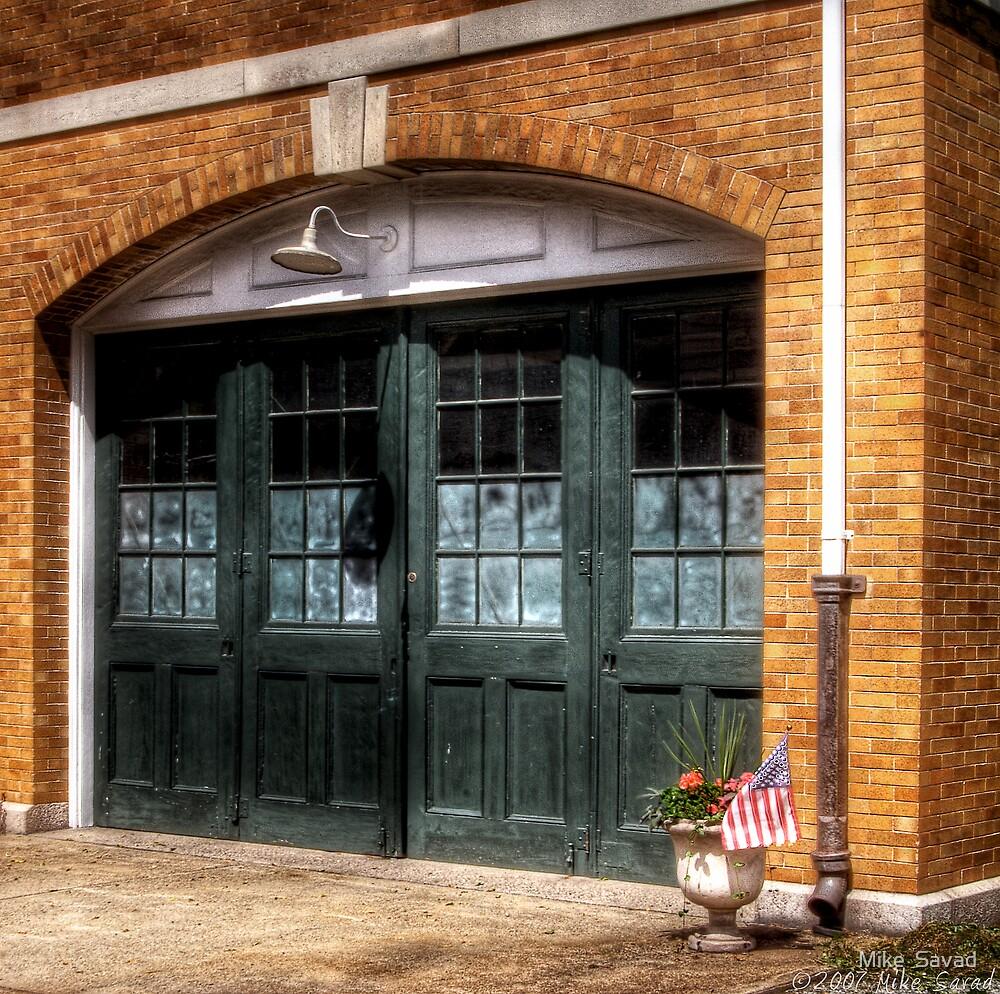 The Garage Door by Michael Savad
