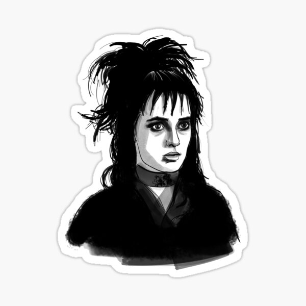 Lydia Deetz Stickers Redbubble