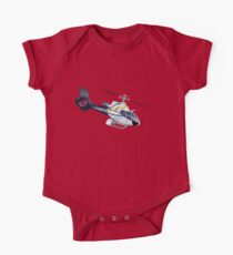 Cartoon Helicopter One Piece - Short Sleeve