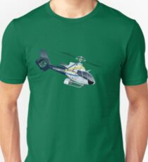 Cartoon Helicopter Unisex T-Shirt