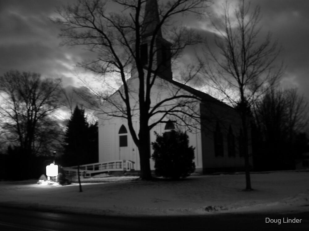 Church at Leverett, MA by Doug Linder