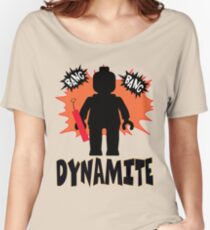 Dynamite Minifigure Women's Relaxed Fit T-Shirt