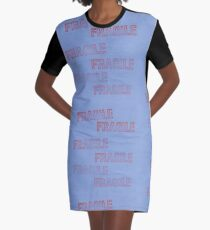 Handle With Care Graphic T-Shirt Dress