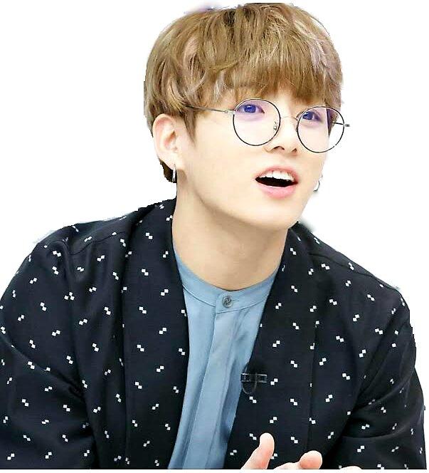 "Bts Jungkook Glasses Wallpaper: ""Jungkook With Glasses"" Stickers By Jahnvi Modi"
