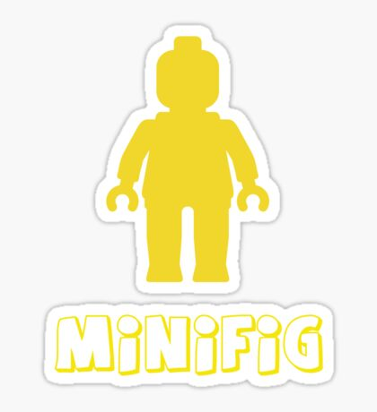 Minifig [Yellow]  Sticker