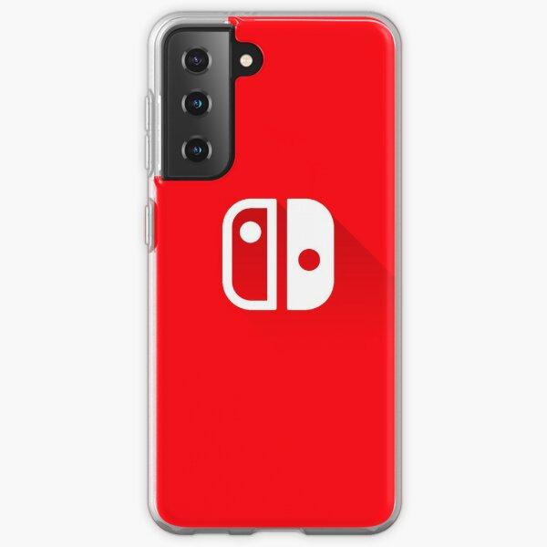 Logo Nintendo Switch - Long Shadow Coque souple Samsung Galaxy