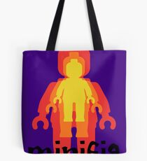 Colored Minifigs Tote Bag