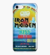 Classic- Monsters of Rock-80's Eddie iPhone Case/Skin