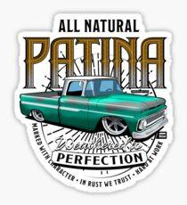 All Natural Patina GREEN Sticker