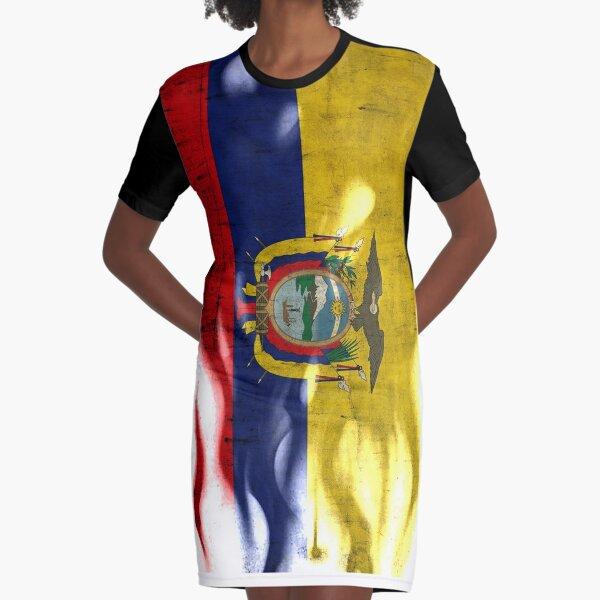 Republic of República del Ecuador Flag Ecuadorian Pride Mens T-shirt
