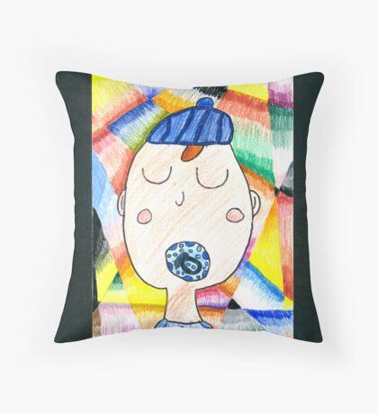 Axel - A Portrait Throw Pillow
