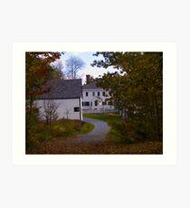 Fall in Nova Scotia Art Print