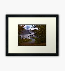 Fall in Nova Scotia Framed Print