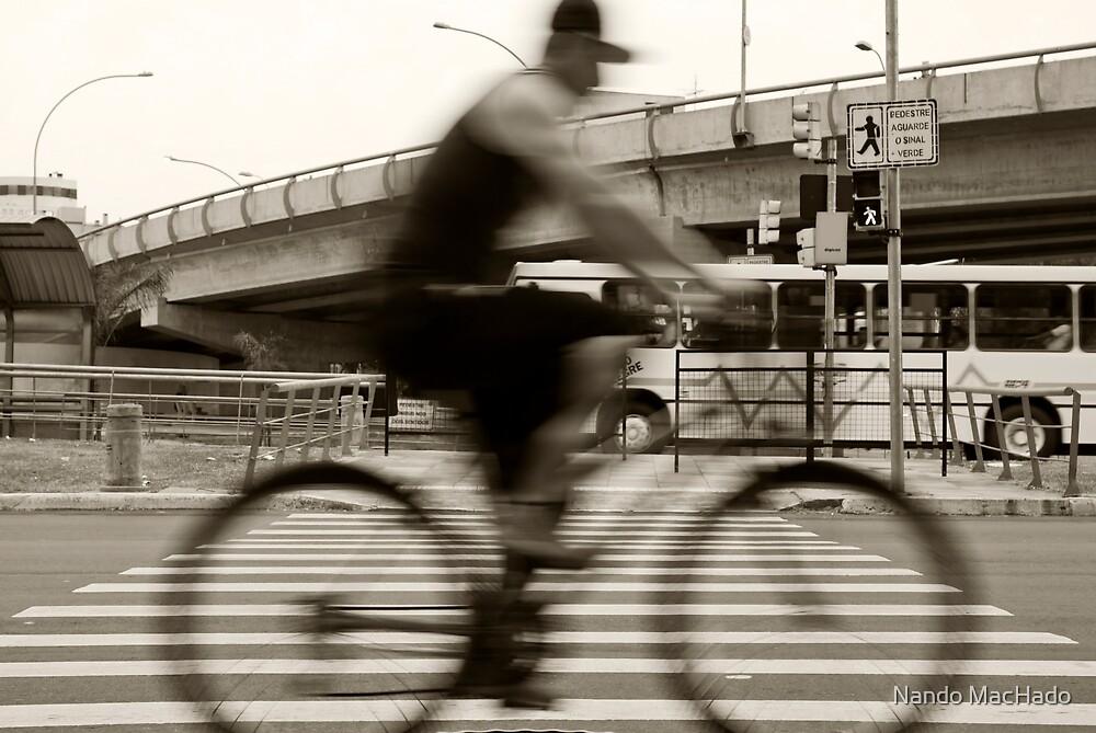 An Henri Cartier-Bresson Moment... by Fernando Machado